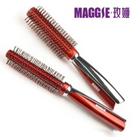 2014 new round roll hair comb cylincler comb round style hairdressing tool  wholesale