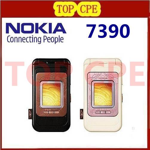 Nokia 7390 Original Nokia 7390 Bluetooth 3.15MP nokia mobile phone Free Shipping Refurbished(China (Mainland))