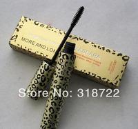 Wholesale - HOT Makeup Leopard LASH more beautiful Mascara black more beautiful 10ml (100pcs/lot)+free shipping