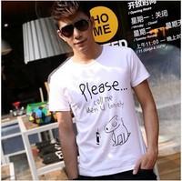 2014 new popular trend of men's T-shirt 3 color M-XXL