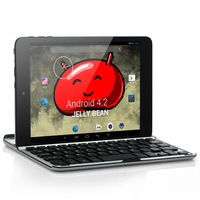 8 inches Bluetooth WIFI Dual-core Google   IPS Screen, A13S 1GHz CPU, 1G RAM, 8GB ROM, Detachable Keyboard