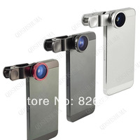 10pcs universal phone lens  clip 3 in 1  Fish Eye+Wide Angle+Macro Lens kit fisheye lens for  iphone 5 galaxy note 2 note 3