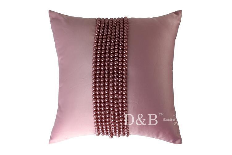 New arrival Luxury Chromophous Gorgeous Elegant Shuimo Pearl Soft car Pillow Cover Pillow Lovers Pillow Case(China (Mainland))