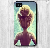 Free Shipping Lovely Tinkerbell Protective Hard Cover Case For iPhone 5 5S