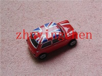 Free + drop Shipping uk Red Mini jeep car 2gb 4gb 8GB 16GB 32GB 64gb Jewelry Metal Car USB 2.0 Flash Drive Pen Thumb gifts box