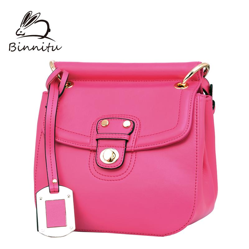 Bunny bags 2014 trend women's cowhide handbag female shoulder bag messenger bag fashion bag small women's(China (Mainland))