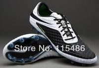 New White Black Venom Soccer Shoes Men Football Boots 2014 Cheap Athletic Shoe Brand Nice Hypervenom Firm Ground Ball Cleats FG
