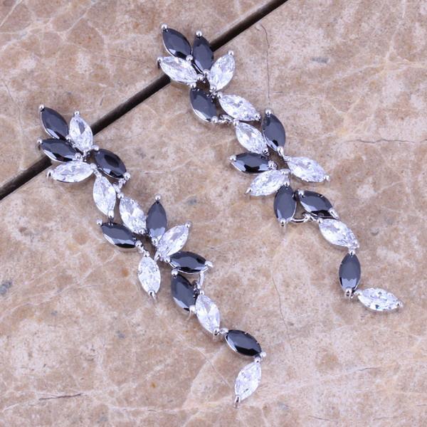Серьги висячие Jewelry1688 925