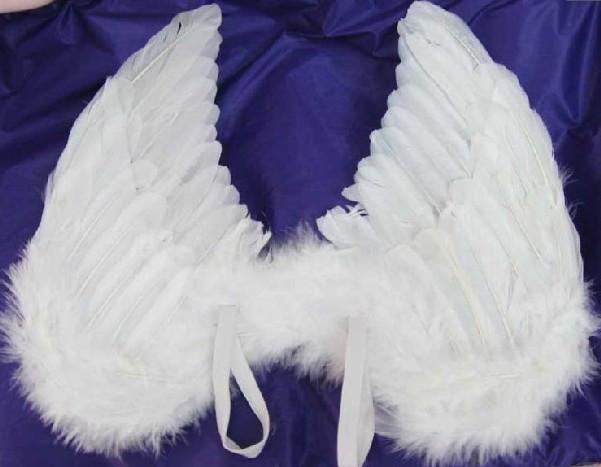 Как сделать крылья ангела из боа - Модная мама