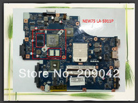 Original Mainboard for 5552G  NEW75 LA-5911P REV:1.0 AMD Non-Integrated Laptop Motherboard SOCKET S1 all fully tested