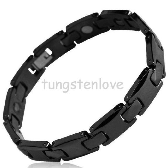 European bracelets Germanium Health Magnetic Therapy Radiation Fatigue Bracelet Ceramic Jewelry Male Ceramic Health Bracelet(China (Mainland))