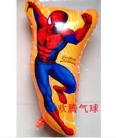 NEW ARRIVAL Free shipping wholesale 50pcs/lot Spiderman balloon,helium balloon,mylar balloon ,68CMX41CM