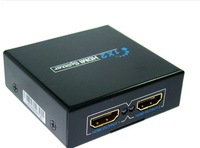 2 Port 1.4 HDMI Splitter 3D 1x2 HDMI Switch 1 In 2 Out Switcher For Audio HDTV 1080P Video DVD supports 3D full HD1080p