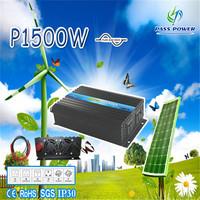 Off-grid DC12v/24v/48v AC100v-120v/220v-240v 1500w pure sine wave battery inverter,vechile inverter,car inverter