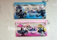 Free shipping wholesale children stationery gift bag suit (pencil + pencil sharpener + pen bag +ruler+eraser) 10 pcs