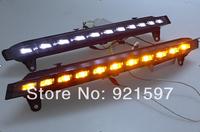 chrome High power Super bright for Q7 2005-2010 led DRL daytime running light lamp fog lamp cover free shipping EMS,FedEx