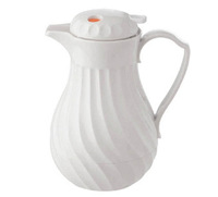 Wholesale - Free shipping Kinox Connoisserve 64 oz Thermal Server 4022/64P, black and white foam insulated swirl jugs