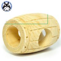 Beerbarrel pet-link hamster shaped logs hamster climbing toy hamster supplies