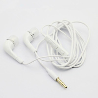 Wholesale Moblie Phone With Volume Control Remote Earphone Handsfree For Samsung earpods Galaxy S2 S3 i9300 Note, 1000pcs/lot