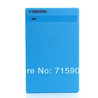 "30set/lot USB 3.0 2.5"" SATA HDD Hard Disk Drive External Enclosure Case Box for PC Blue free shipping"