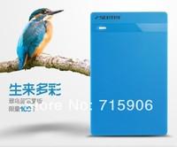 "USB 3.0 2.5"" SATA HDD Hard Disk Drive External Enclosure Case Box for PC Blue free shipping"