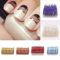 10 Rolls Striping Tape Line Nail Art Sticker Tools Beauty Decorations for on Nail Stickers  6 Colors 63453-63458