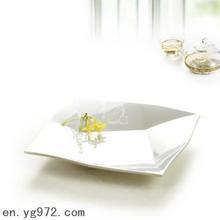 7 pcs/lote 6-12 polegadas plástico branco de alta qualidade placa da melamina chip conjuntos talheres restaurante suprimentos hotel(China (Mainland))
