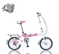 2014 New Squirrel 16 folding bike ultra-light highway bicycle gentlewomen child car male Women sitair  Free Shipping