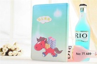 """New Nation leather Cartoon Horse Case Universal 7"""" 7 Inch Leather Case Protective Case Fit All 7 inch Size Pc Tablet Free 7T A89"""