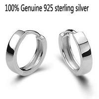 Wholesale Genuine 925 sterling silver fashion earrings wedding jewelry for women men 3Q141