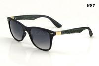 10pcs/lot Coating sunglass Wood sunglasses Rossi Sunglasses VR/46 Wooden Sun Glasses Men Women Brand Designer Sports oculos 4195