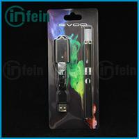 1pc/lot Electronic cigarette evod starter kit with 650mah,900mah,1100mah evod battery evod mt3 starter kit (1*evod-mt3 blister)