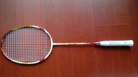 victor  badminton racquet Brave Sword LYD red 100% carbon fibre free shipping 10 pieces/lot