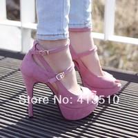 014 fashion women pumps,high heels shoes women,open toe+platform sandals for women dropship free shipping