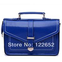 2014 fashional genuine leather handbag ancient motorcycle bag messenge bag free shipping B-120