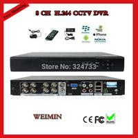 8CH CCTV DVR Recorder, HDMI,H.264,D1, VGA output, Mobile Phone Internet View,Security System cctv camera dvr.