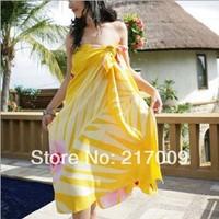 BIG SIZE! NEW 2014 FashionNew fashion swim bikini beach towels mantillas c  clock dot  Free Shipping SC-27