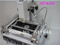 Hot Sell,Free shipping  by dhl White HT-R390 infrared Hot Air rework Station ,HT 390 BGA Soldering repair Machine 110v