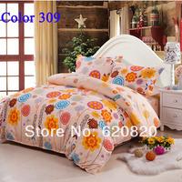Home decor Cozy bedrooms Warmest room Comfortor Bedding Set Queen King size Bedding sets Bed Sheet Duvet cover set color309