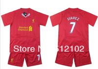 New 13-14 season LIVAC Jersey Short Sleeve Suit Children's Soccer Clothing