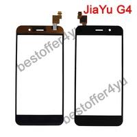 black 100% original JY G4 Jiayu G4 Touch Screen Digitizer Replacement for jiayu G4 cell phone  + tracking code