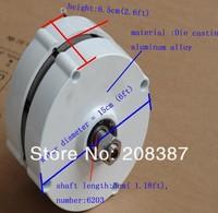 100w AC 12V50HZ  permanet magnet generator