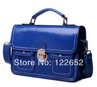 2014 new Spring and Summer genuine leather motorcycle handbag messenge bag free shipping B-121