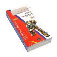 U-STAR Paint Brush Kit, UA-90027, 10 in 1, 7pcs Brushes & 3pcs  Palettes Inside, High Quality Hobby Tools