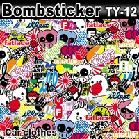 Guarantee 100%  1.52 X30m Auto Film Sticker Bomb Vinyl Body Graphics