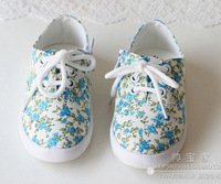 2014 spring child female child spring shoes casual canvas shoes single shoes