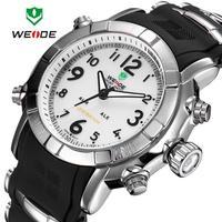 2014 WEIDE Lastest Mens Military Japan Quartz Analog-digital LED Display Sports Watch, Waterproof Watch