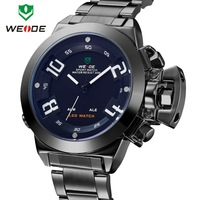 Newest Military design Quartz Watch, Analog LED Double Display, Japan Movement, 3ATM