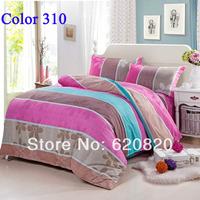 Wholesale Stripe Bedding set Sets Brand Fashion Bedding Set Pillow case Bedsheet  Bed set Home Textile Bedclothes Hotsaling