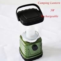 1pc 805C 5W LED Camping  lantern lightPortable Lantern Rechargable with us/eu/uk/au Plug  + Free Shipping